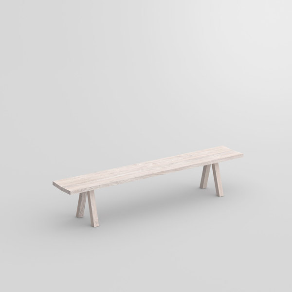Tree Trunk Bench PAPILIO BASIC cam1 custom made in solid wood by vitamin design