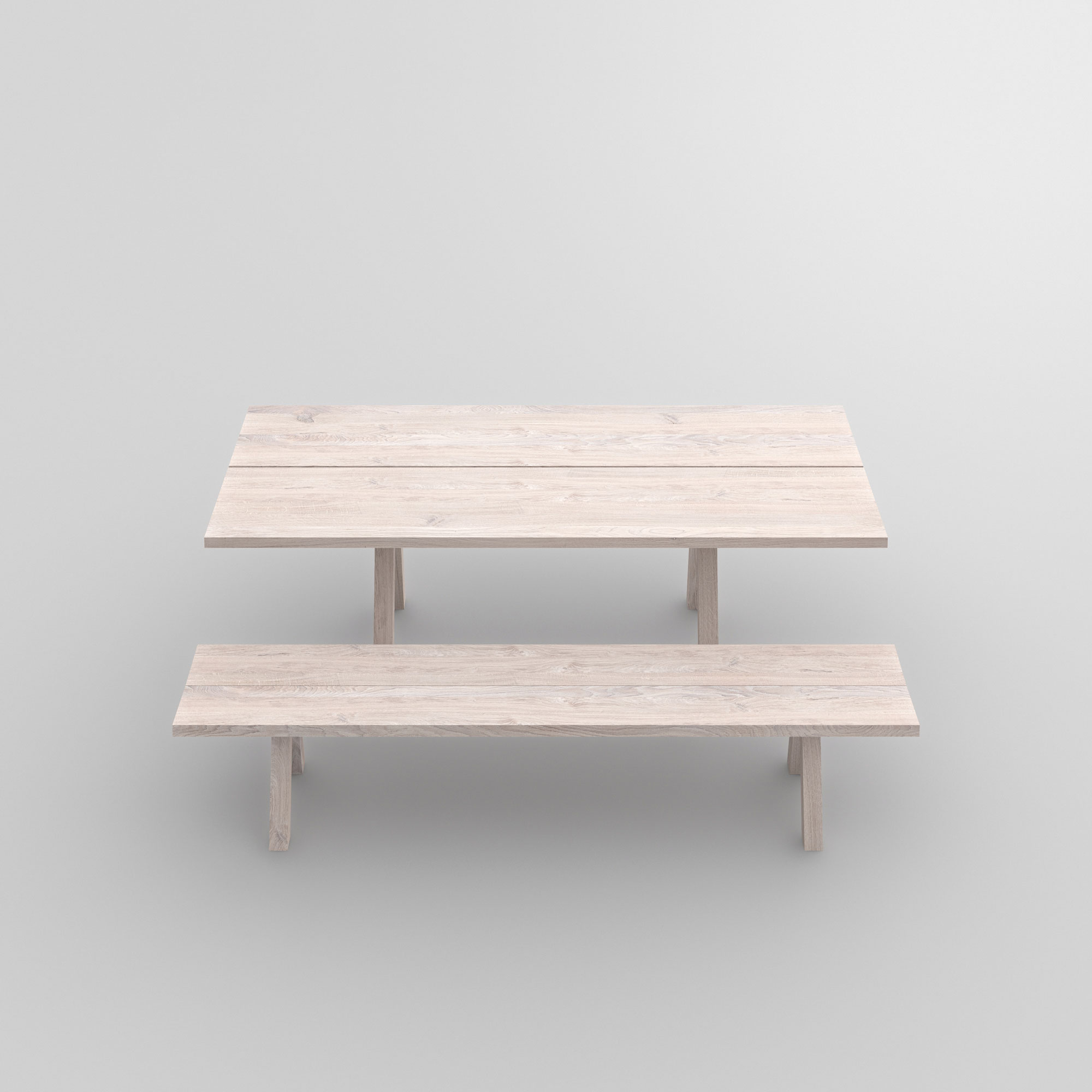 Tree Trunk Bench PAPILIO BASIC cam2 custom made in solid wood by vitamin design