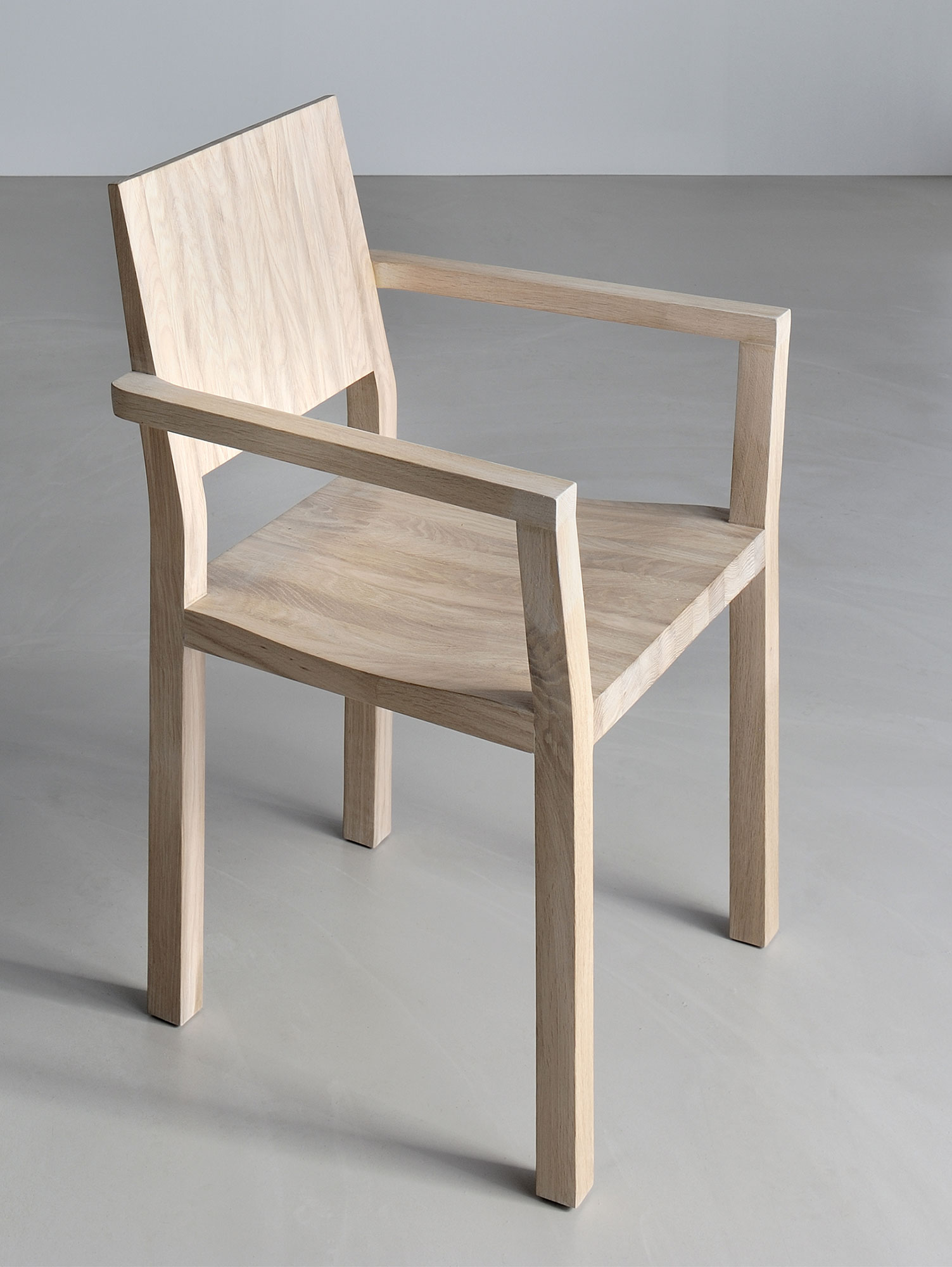 Solid Wood Armchair TAU-A 3343a custom made in solid wood by vitamin design