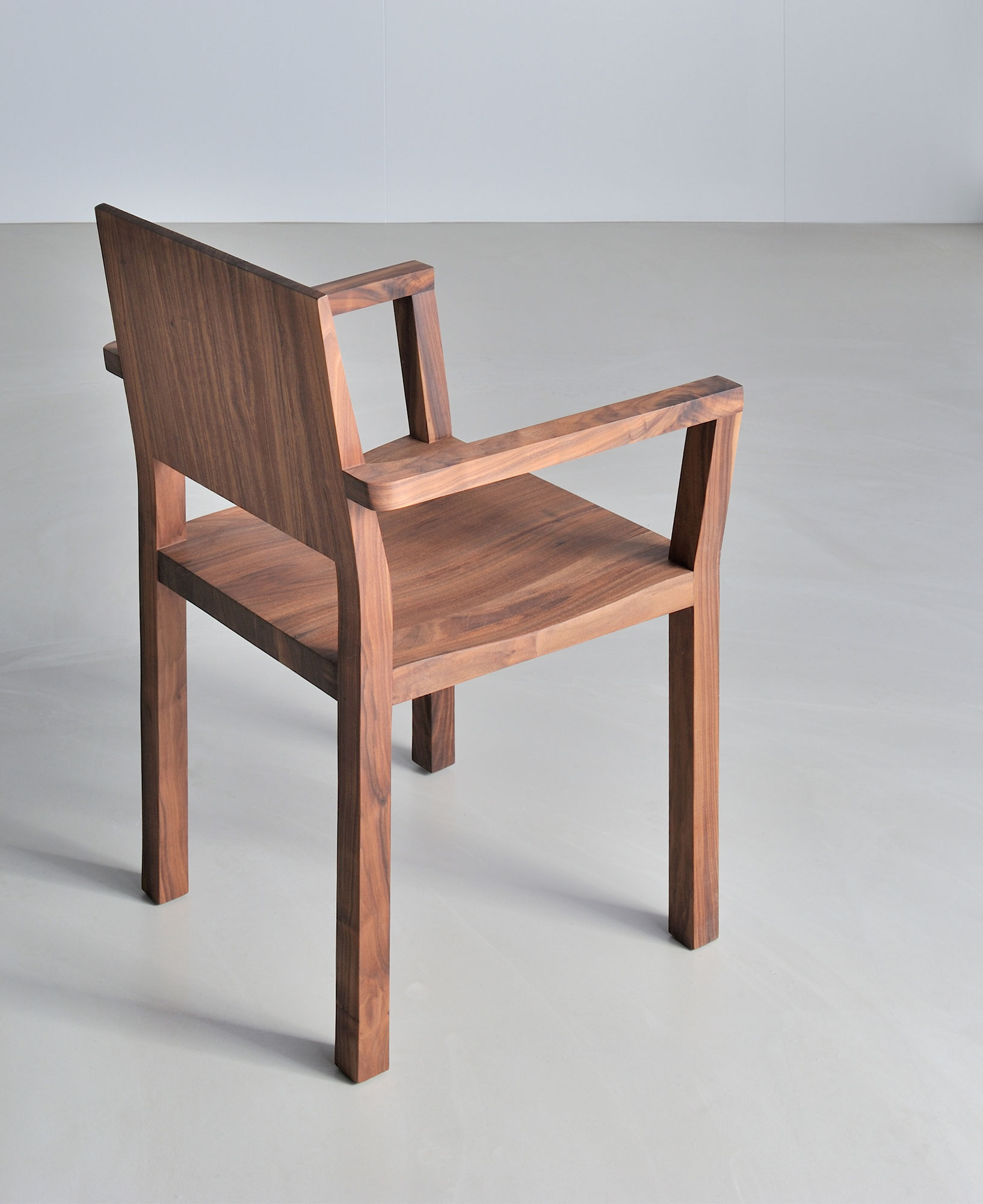 Solid Wood Armchair TAU-A 3335a custom made in solid wood by vitamin design