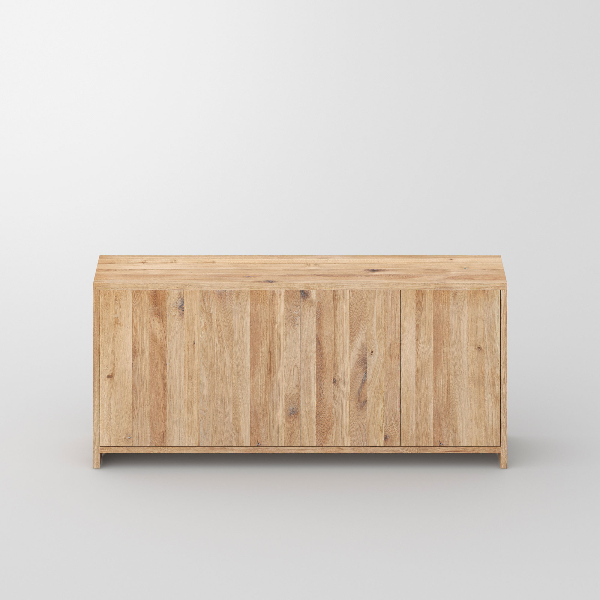 Tailor-Made Sideboard MENA F cam2 custom made in solid wood by vitamin design