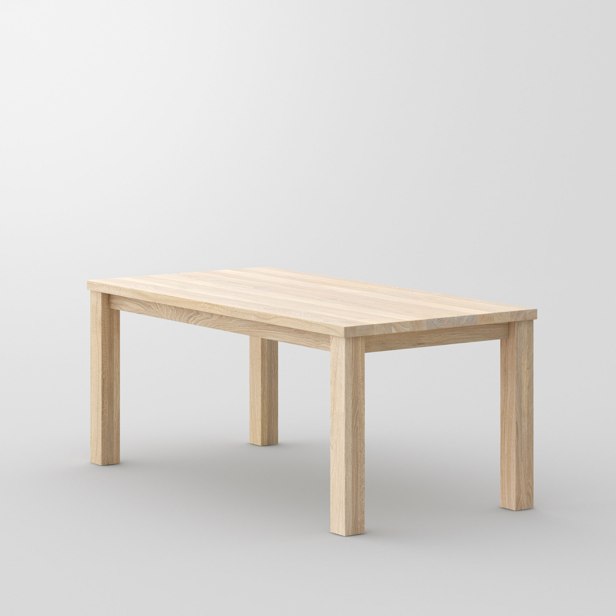 Tailor-Made Solid Wood Table FORTE 4 B9X9 cam3 custom made in solid wood by vitamin design