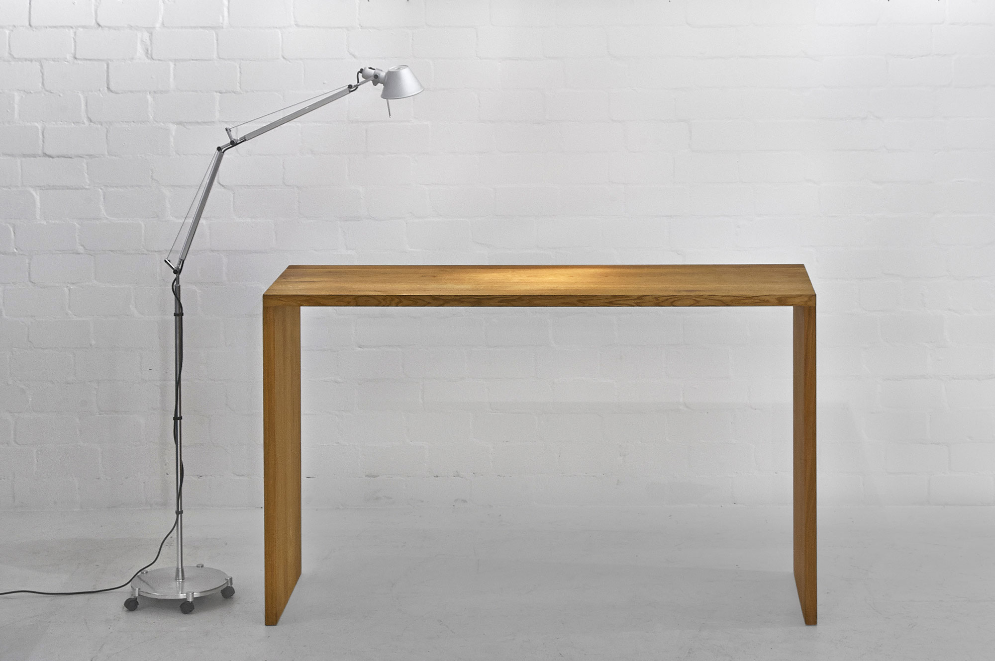 Solid Wood Console Table MENA CONSOLE 3727a custom made in solid wood by vitamin design