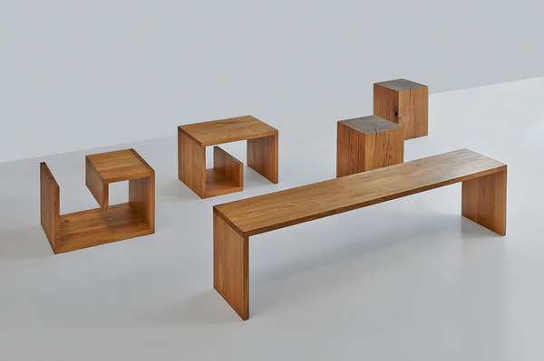 Design Coffee Table MENA G 3 1092 custom made in solid wood by vitamin design