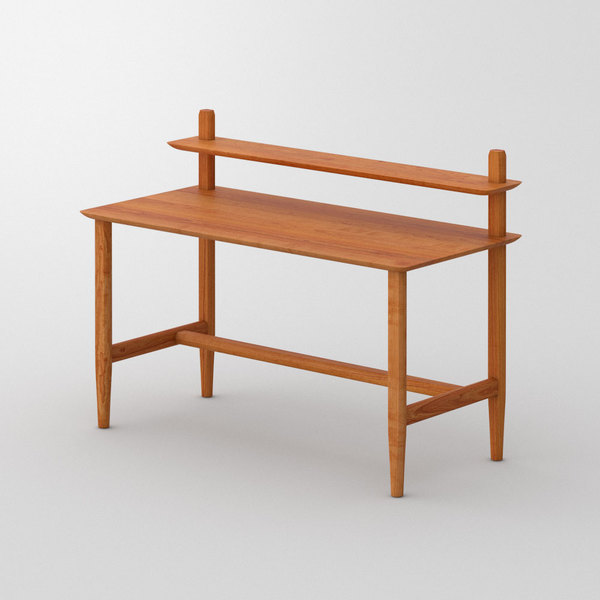 Modern Secretary Solid Wood Table AETAS SECRETARY custom made in Solid American cherrywood, oiled by vitamin design