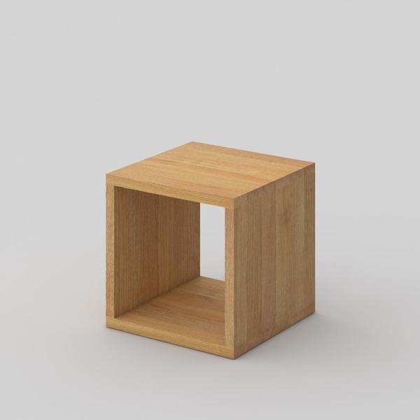 Multifunctional Wooden Stool Mena B 3 Vitamin Design Modum