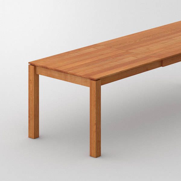 Table CONVERTO cam2 custom made in Solid American cherrywood, oiled by vitamin design