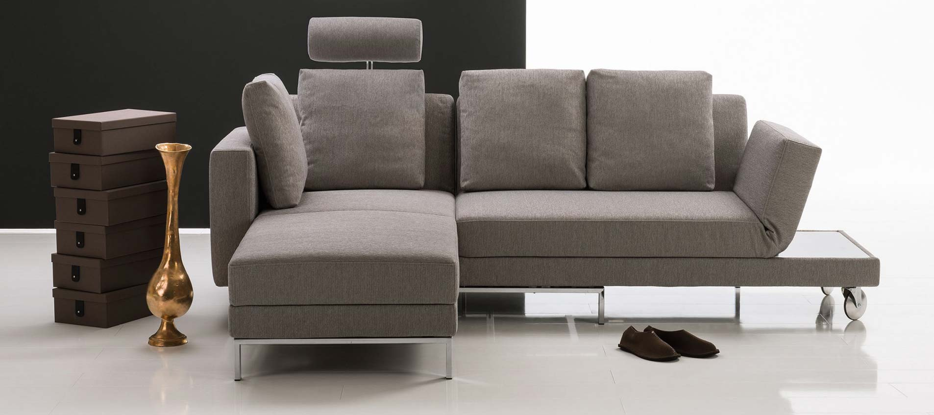 Four two 2 ecksofas modum front